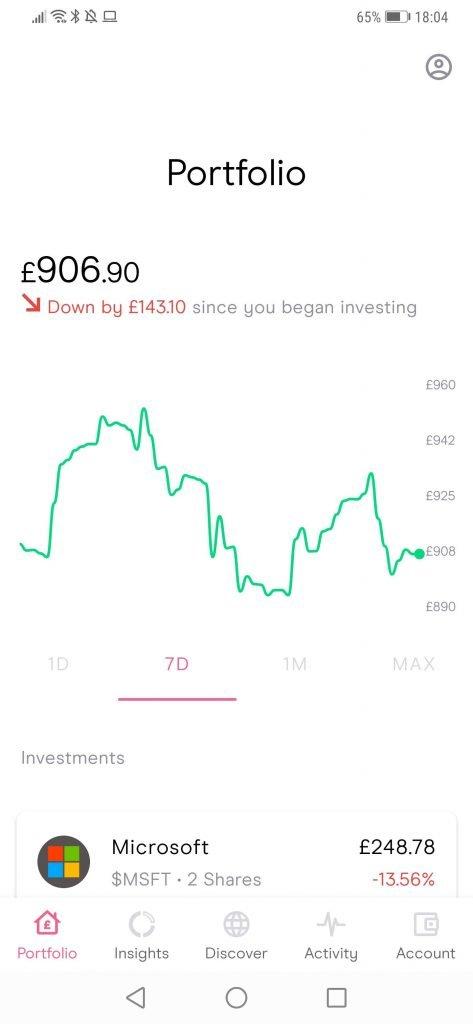Freetrade Investment Portfolio (1)