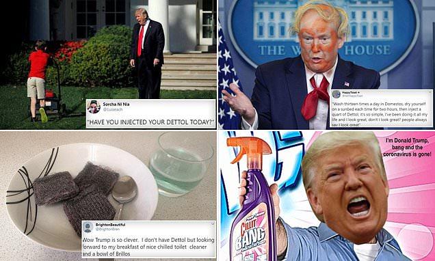 Trump Coronavirus Memes