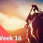 Week 16 – I Feel Honoured & Humbled… Thank You!
