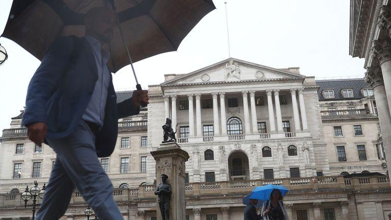 Bank of England (BoE) Building