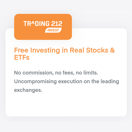 Get a free share worth up to £100 from Trading212